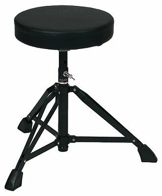 Basix F805120 Sgabello per Batteria, Drum Throne, Tondo