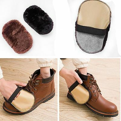 Cleaning Gloves Shoe Care Brush For Leather Shoes Bags Sofa Cleaning Polishing