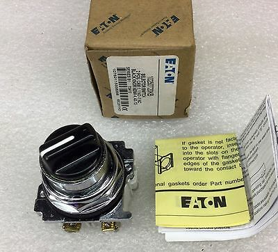 Nib  10250T20Kb Selector Switch 2Position Maint No/nc Knob Black M4-3