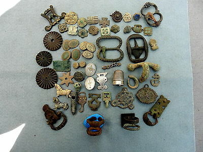 Group Collection Bronze Silver Artefacts Bronze Age Roman Medieval