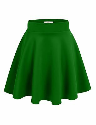 Simlu Womens Skater Skirt, A Line Flared Skirt Reg & Plus Size Skater Skirts USA