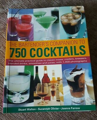 The Bartender's Companion to 750 Cocktails by Stuart Walton, Suzannah Olivier, …