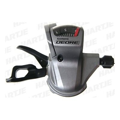 """SHIMANO Thumb Shifter """"Deore"""" SL-T610 Mod.14 10-speed, right, silver 412227"""