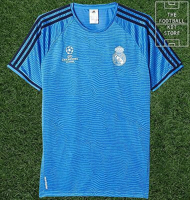 Real Madrid Training Shirt - Official Adidas Football Training Top - All Sizes