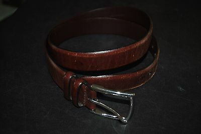Ralph Lauren  Men's Brown Leather Belt Size 36