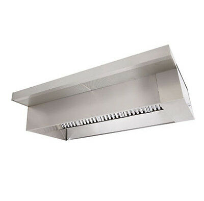 4' Type 1 Commercial Kitchen Hood