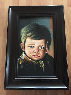 Crying Boy  Art Collector Painting