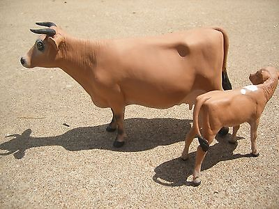 Breyer Cow and Calf Jersey Custom Dairy Pair OOAK