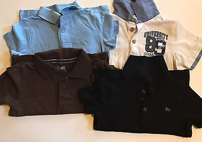 Toddler Boy Collared Shirts Mixed Lot Of 4 Size 3T