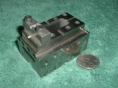 Precision Tool Makers Grinding/Inspection Fixture. O1 Tool Steel. Nice!