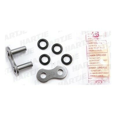 """DID Chain """"520VX2"""" solid rivet link 5/8 x 1/4, pro-street X-ring, reinforced"""