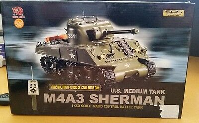 Heng Long M4A3 Sherman Tank