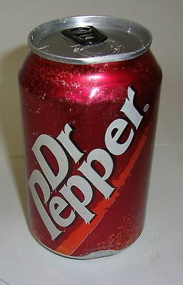 Foreign More Modern Dr Pepper Soda Can
