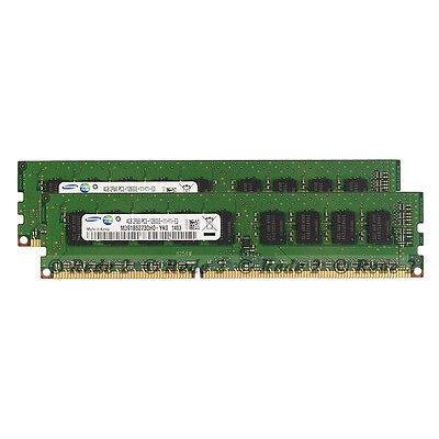 New 16GB 2X8GB PC3-12800E DDR3 1600Mhz 240Pin CL11 Unbuffered ECC DIMM Memory