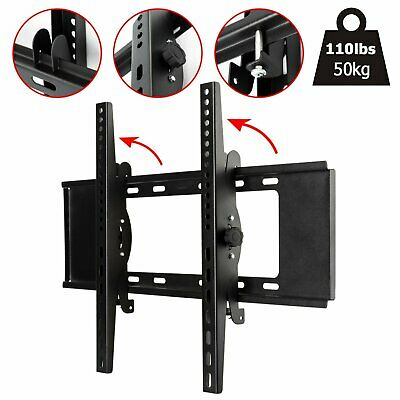 Tilt TV Wall Bracket Mount  24 27  32 37 40 42 46 48 50 55 Plasma LCD LED Flat