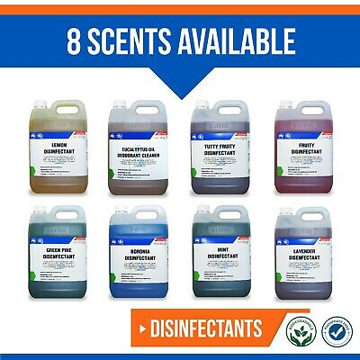 Concentrated Disinfectant 5 Litre - Hospital Grade - 8 Scents Available! 5L