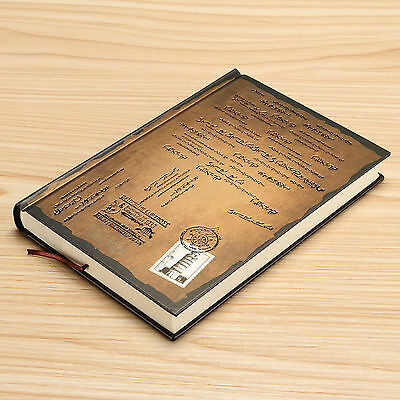 Creative Stationery Gold Classic Vintage Notebook Journal Diary Thick Page