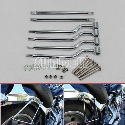 Motorcycle Refit Saddle bag Mounting Kit Support Bar Brackets Universal UK stock