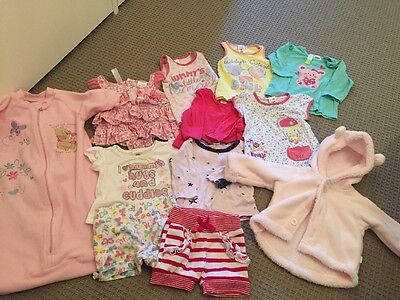 baby girl clothes - size 0 And 00