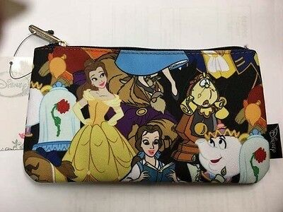 Disney Beauty And The Beast Belle Pencil/Makeup Case Loungefly
