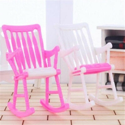 DOLL Furniture Straw Wicker Chair Doll House Toy Chair - $16.99 ...