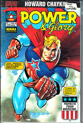 Power Y Glory  ( Completa.  4 Numeros )  Por Howard Chaykin.   Norma.