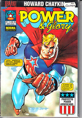 Power Y Glory  #  ( Completa.  4 Numeros )  Por Howard Chaykin.