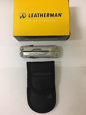 Leatherman Rebar Standard Stainless Steel Multitool + Nylon Sheath *brand New*