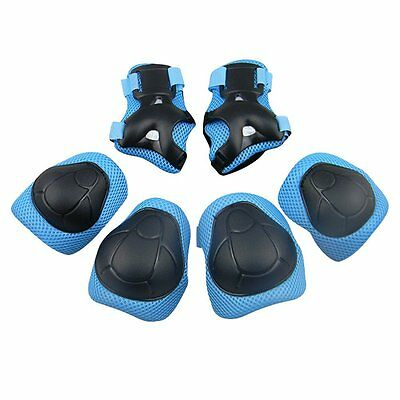 GIM Childs Pad Set with Knee Elbow and Wrist Blue