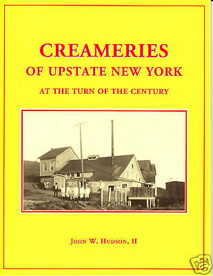 Creameries of Upstate New York At The Turn of The Century , Railroad Book