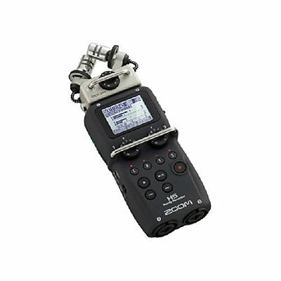 ZOOM H5 Handy PCM Field Recorder w/ Interchangeable Mic Capsules Japan Tracking