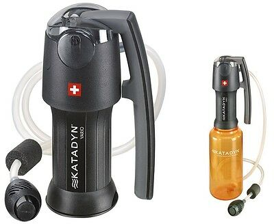 Katadyn Vario Personal Backcountry Water Purifier Purifier Expedition Hike Trek