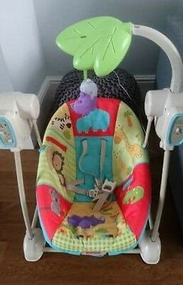 Fisher Price musical swinging/vibrating chair