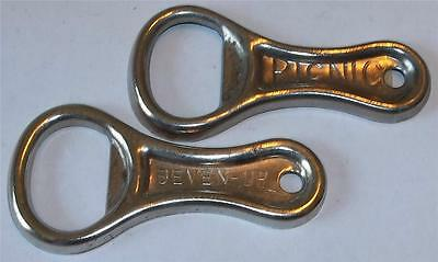 Vintage Seven Up and Picnic Bottle Openers 7 Up