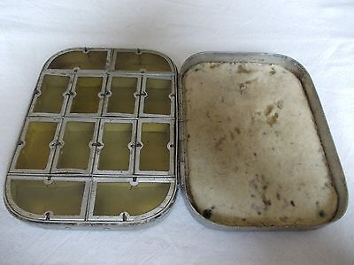 VINTAGE WHEATLEY DRY FLY BOX for REPAIRS/SPARES ONLY.