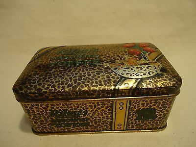 Vintage RILEYS Assorted TOFFEE Candy Embossed Advertising TIN Chas Gyde Montreal
