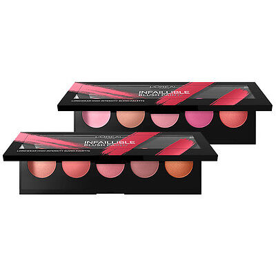 L'Oreal Paris Infallible Blush Paint Palette AMBERS  NEW IN!!