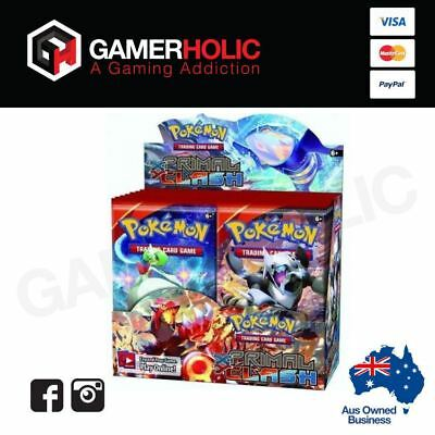 Pokemon TCG Primal Clash Booster Box Factory Sealed 36 Booster Packs
