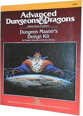 USED Advanced Dungeons & Dragons 2nd Edition Dungeon Master's Design Kit (I.R)