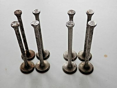Full set of valves for the 8 10 Anglia Prefect 1940 short type genuine FORD NOS