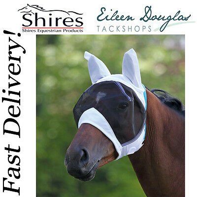 Shires 6662 Fly Mask With Ears - 90% Uv Protection