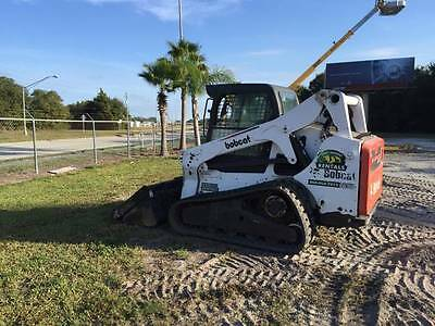 Bobcat T650 Track Loaders, 2012 FL BasedWell Maintained,2460 Hours,Keyless