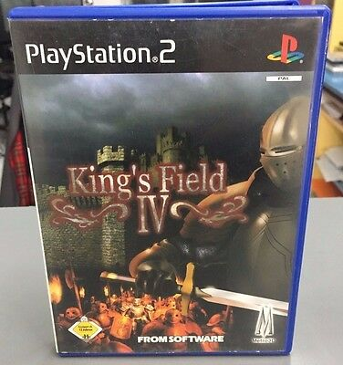 King 's Field IV 4 Ps2 Pal Completo