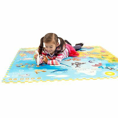 "Creative Baby Interactive i-Mat 2-pack ""My Animal World"" & ""Under the Sea"" wi..."