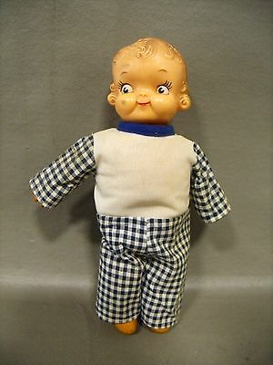 "Vintage Ideal Toy Corp ""Campbell Kid"" Rubber Doll"