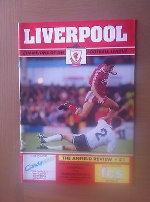 Liverpool Manchester City 1990-91