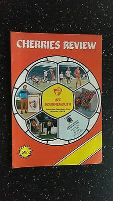Bournemouth V Walsall 1985-86.