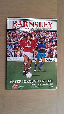 Barnsley V Peterborough United 1993-94