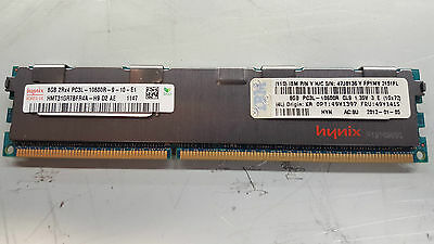 8GB 2Rx4 PC3L-10600R IBM SERVER RAM FRU 49Y1415 PN 47J0136 System x3550 M2 M3