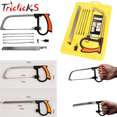 8-in-1 Universal 17 Hand Saw Multi Purpose Woodworking Saws Kit Widely Used Tool